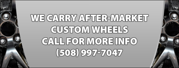 We Carry Aftermarket Wheels