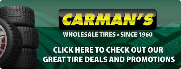 Carmans Wholesale Tires Savings