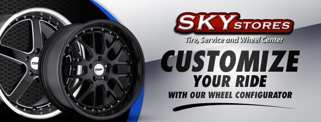 Sky Stores Wheel Configurator