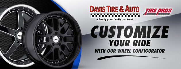 Customize Your Ride at Davis Tire & Auto