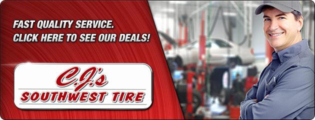 CJs Southwest Tire Savings