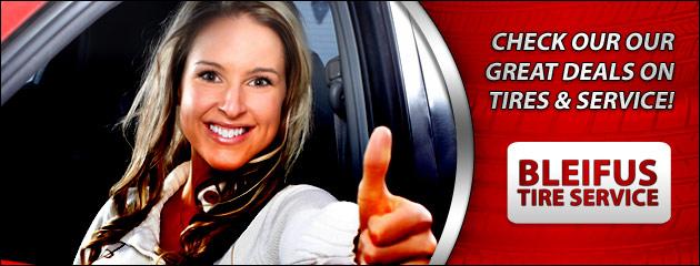 Bleifus Tire Service Savings