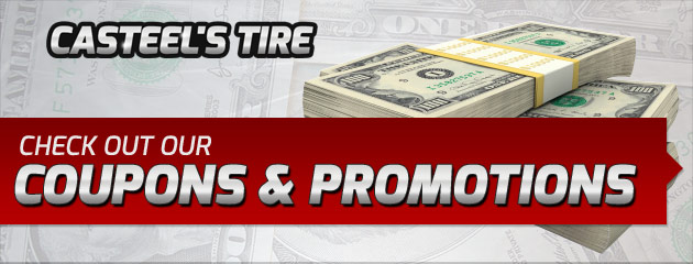 Casteels Tire Savings