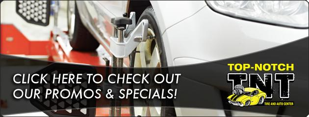 Top Notch Tire and Auto Center Savings