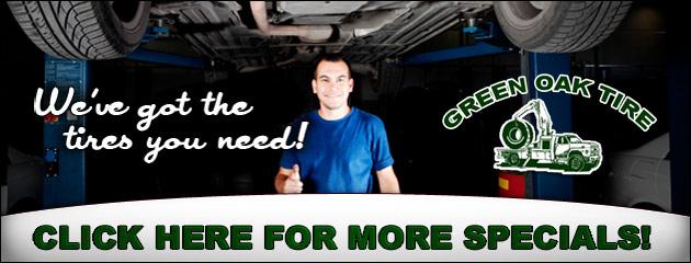 Green Oak Tire Savings