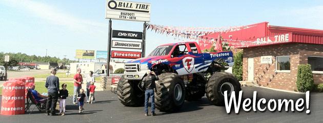 Ball Tire