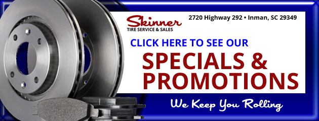 Skinner Tire Service & Sales Savings