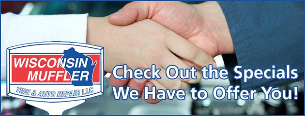 Wisconsin Muffler Tire & Auto Savings