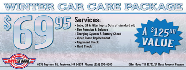 Winter Car Care Package