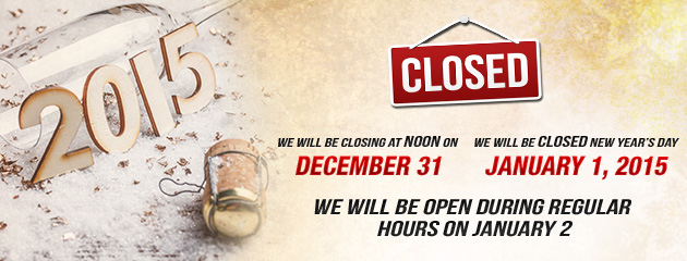 New Years Hours