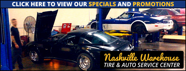 Nashville Warehouse Tire & Auto Service Center Savings
