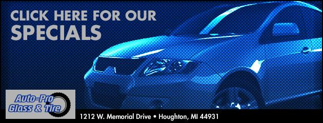 Auto Pro Glass & Tire Savings