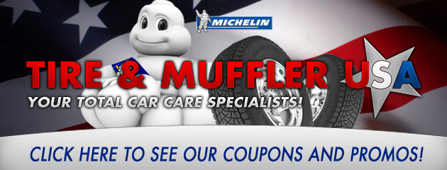 Tire & Muffler USA Savings