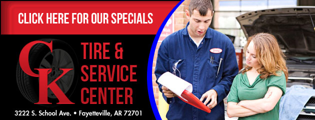 C-K Tire & Service Center Savings