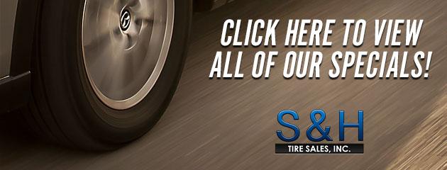 S&H Tire Sales Inc Savings