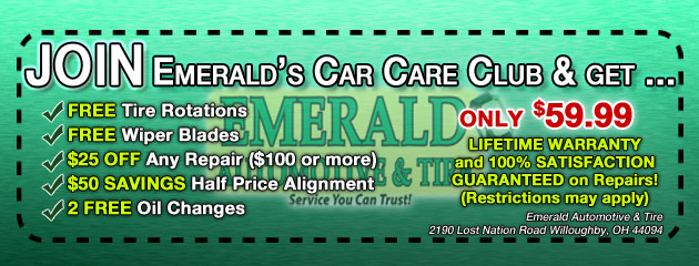Join Emeralds Car Care Club