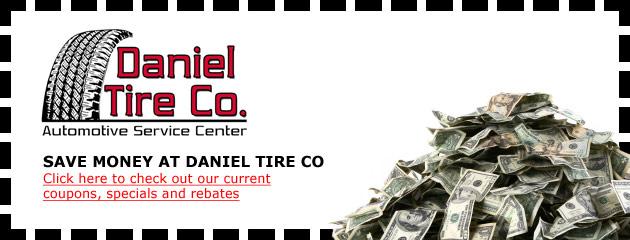 Daniel Tire Co Savings