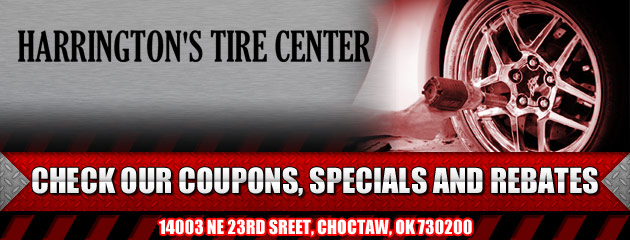 Harringtons Tire Center Savings