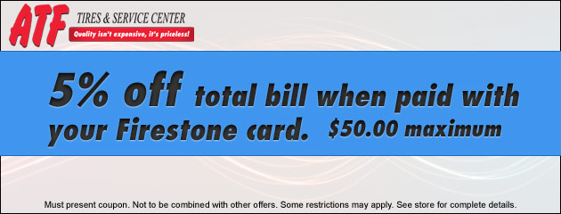 Firestone Credit Card Deal