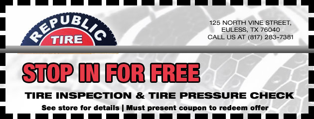 Free Tire Inpsection