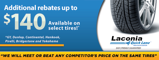 Additional Rebates up to $140