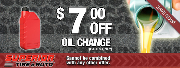 $7 Off Oil Change