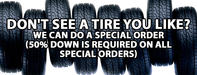Free Alignment with 4 Tire Purchase Special