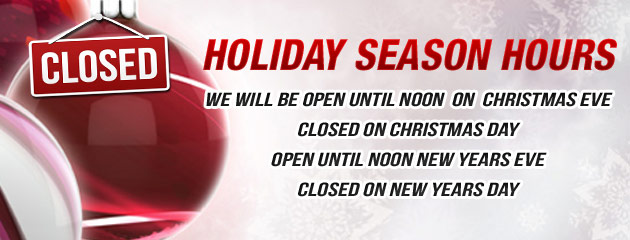 Holiday Hours - Mytee Automotive