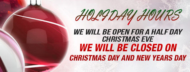 Holiday Hours - Rick