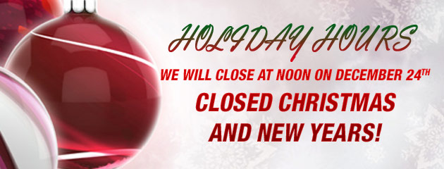 Holiday Hours - American West Tire Pros
