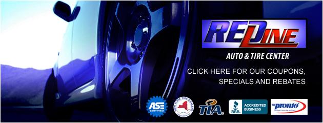 Redline Auto and Tire Center Savings