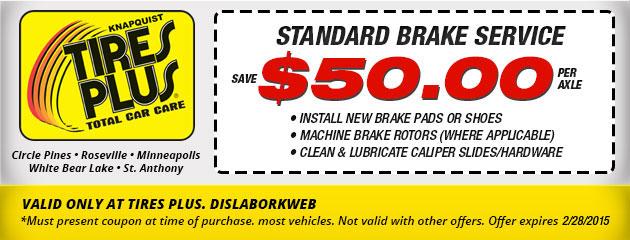 Standard Brake Service