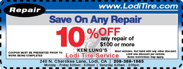 Save on Repairs