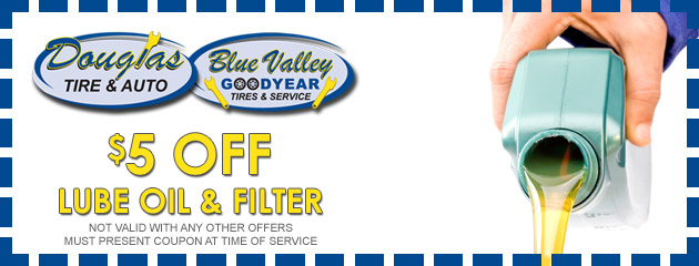 $5 OFF Lube Oil & Filter