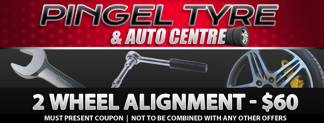 2 Wheel Alignment