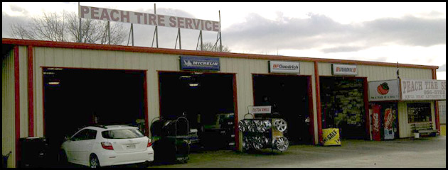 Welcome to Peach Tire Service