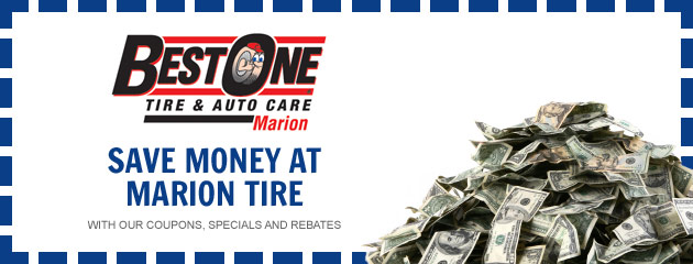 Marion Tire - Default Coupon