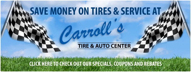 Carrolls Tire & Auto Center Savings