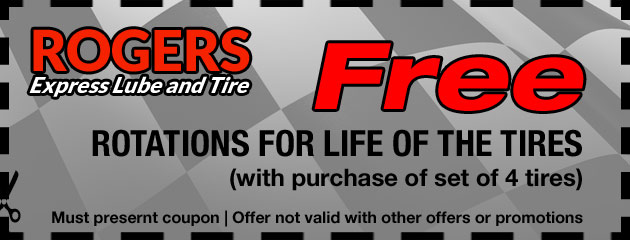 Free Tire Rotations For Life