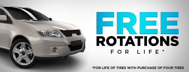 Free Rotations For Life