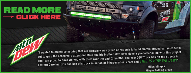 Mt Dew Truck