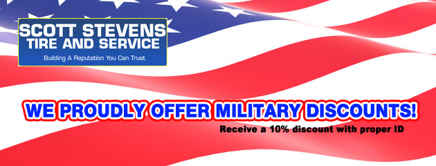 military discount slider