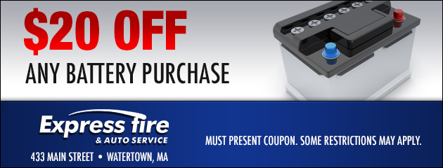 $20 Off Any Battery