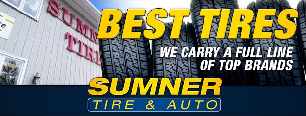 Sumner Tire & Auto - Tire Brands
