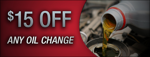 $15 Off Oil Change