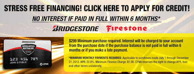 Bridgestone Firestone Credit Card