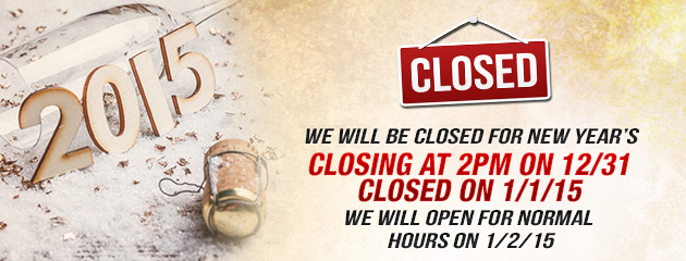 Closed New Year