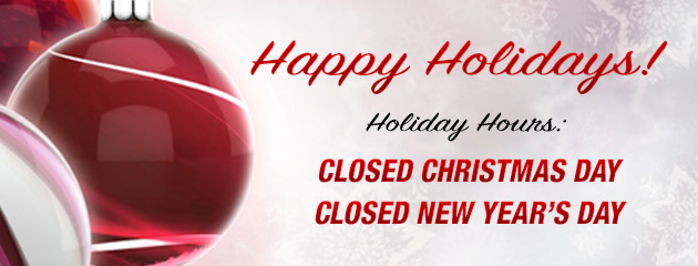 Closed Xmas and New Years