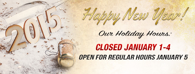 Closed on New Years