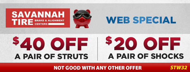 $40 Off Struts | $20 Off Shocks - STW32